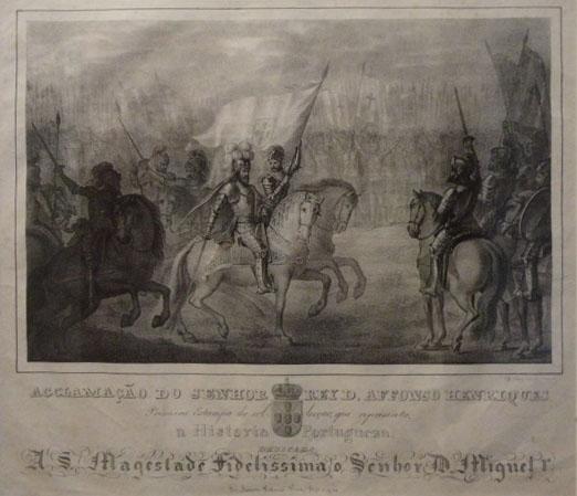 Aclamação de D. Afonso Henriques