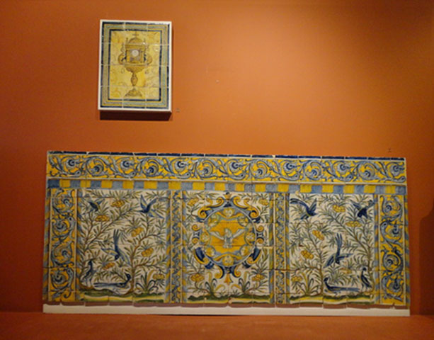Azulejos no Museu de Lisboa