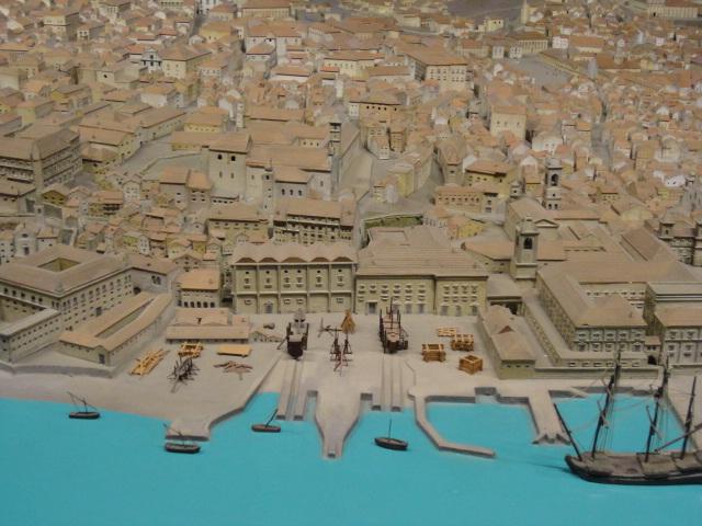 Ribeira das Naus - Maquete de Lisboa