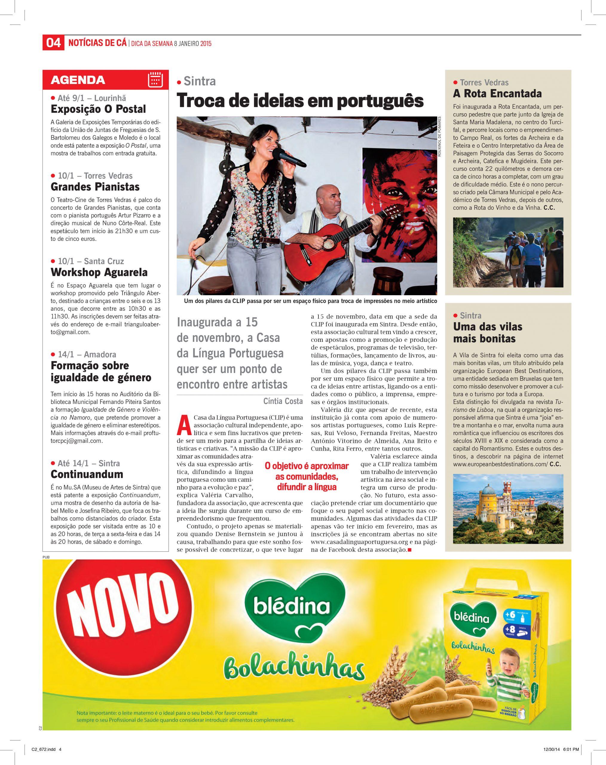 Troca de Ideias em Português