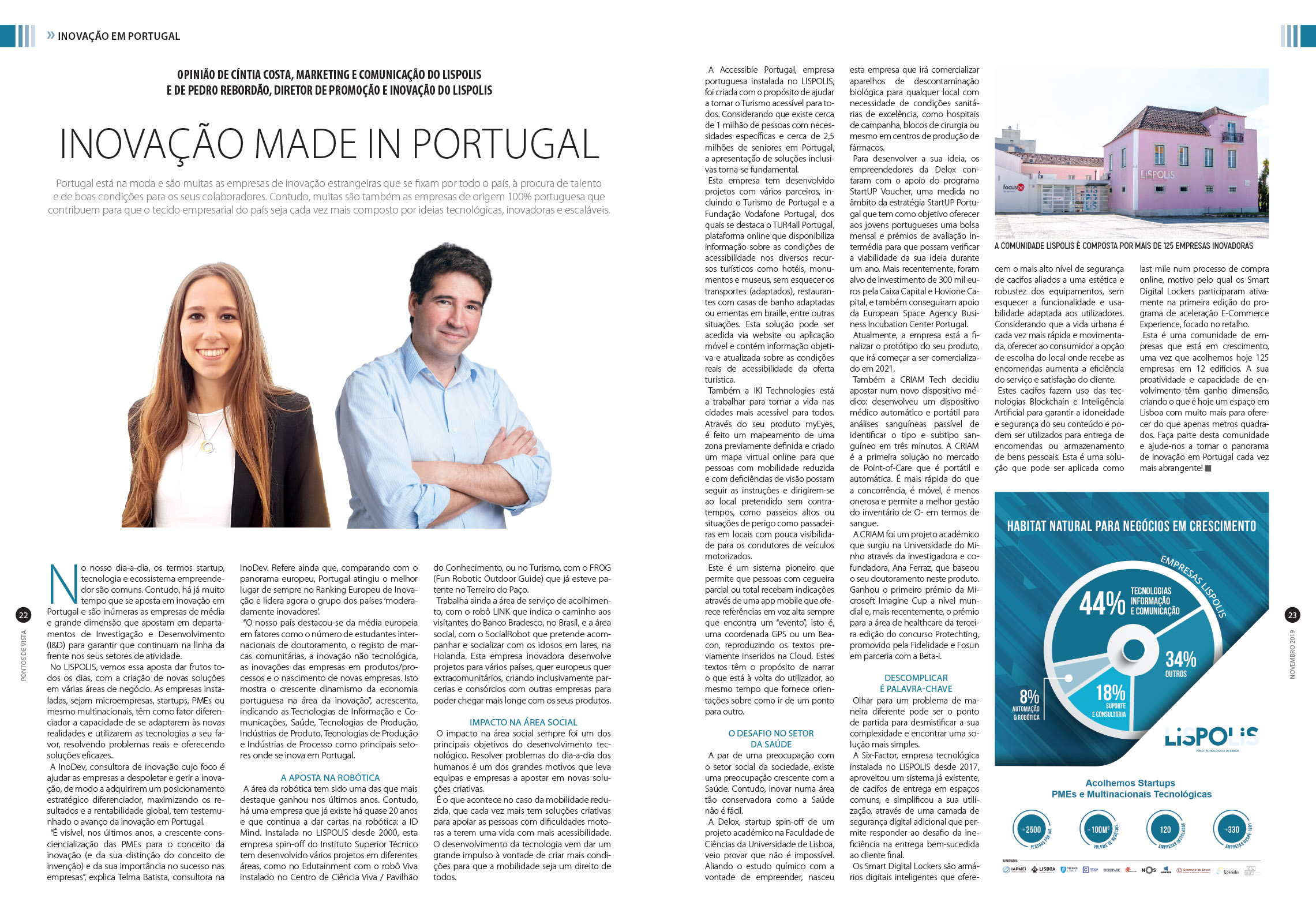 LISPOLIS - Inovação Made in Portugal